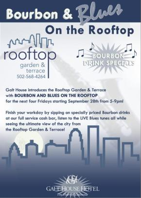 Bourbon & Blues Flyer